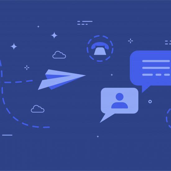 comunicação online