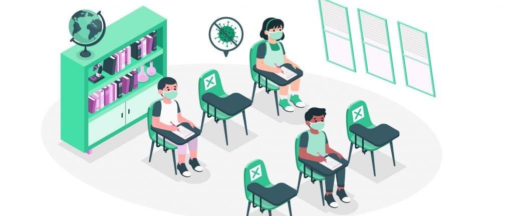 Volta às aulas 2021: escola devem adotar medidas de segurança para retomar o ensino presencial.